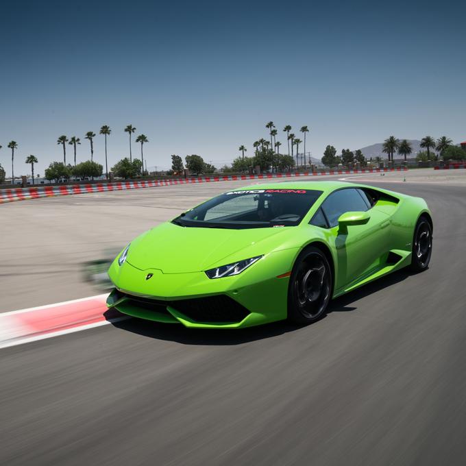 Race a Lamborghini in Las Vegas