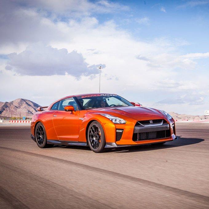 Race a Nissan GTR in Las Vegas