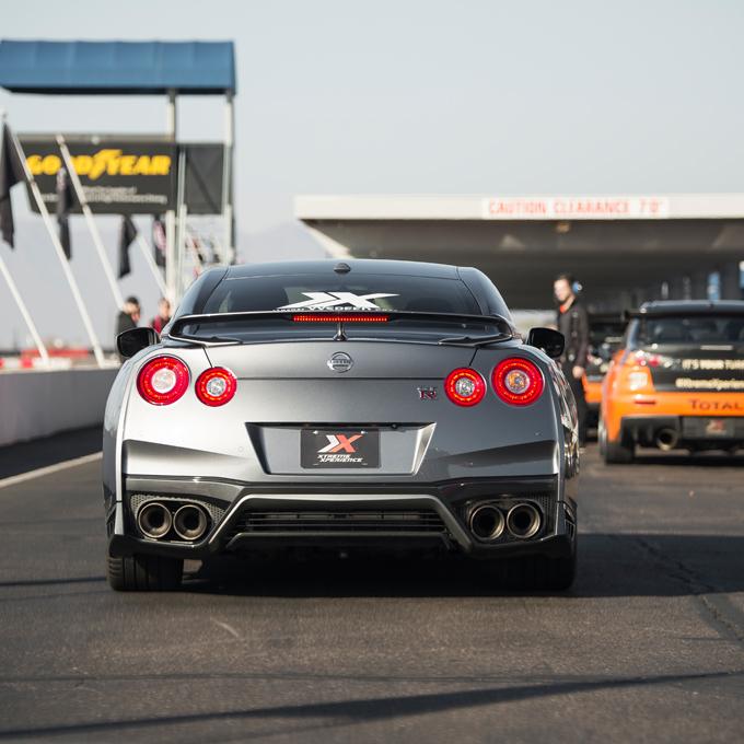 Race a Nissan GTR at Driveway Austin