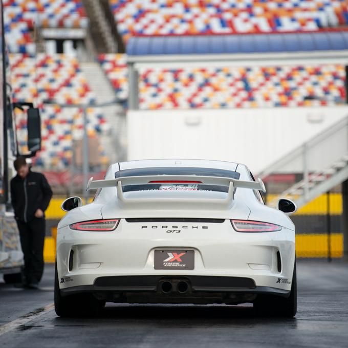 Race a Porsche at New Hampshire Motor Speedway
