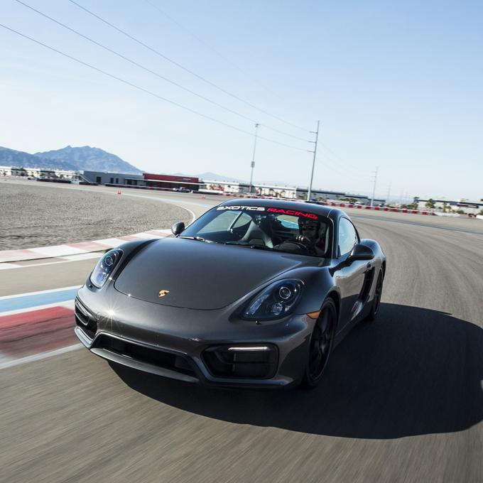Race a Porsche at Las Vegas Motor Speedway