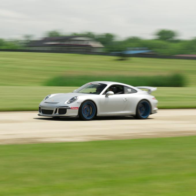 Race a Porsche 911 GT3 in Charlotte