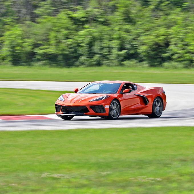 Race a Chevy C8 Corvette near Philadelphia