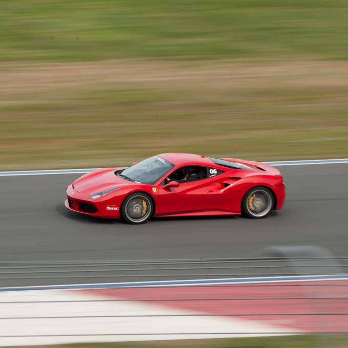 Ferrari Ride Along Experience