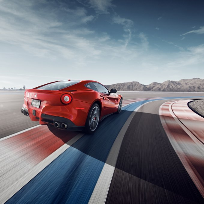 Ferrari Driving Experience in Vegas
