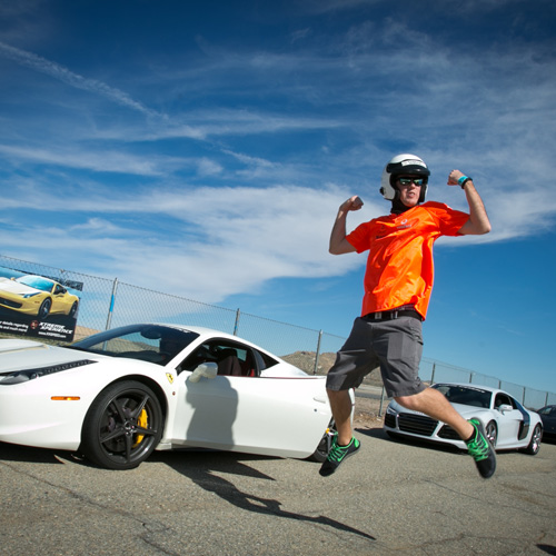 Supercar Thrill Ride near Boston