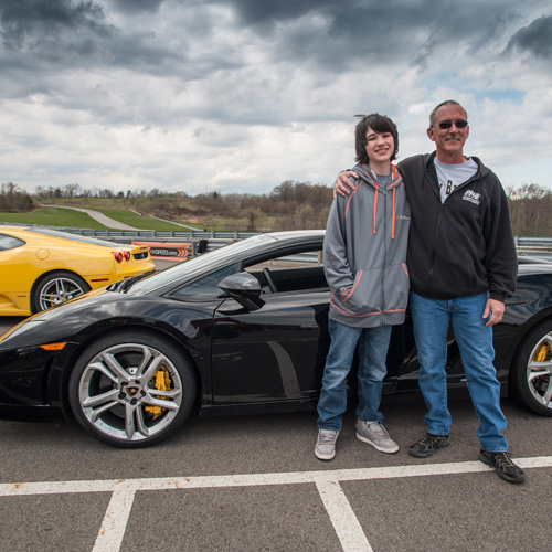 Drive a Lamborghini near Charlotte
