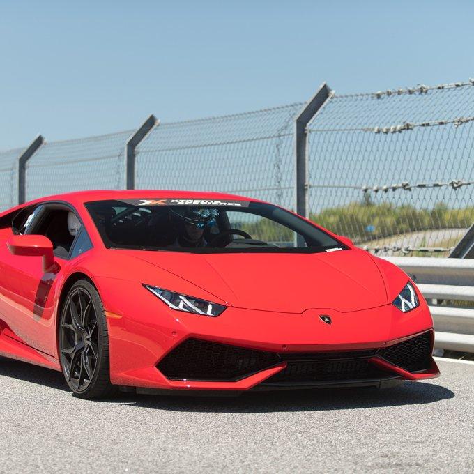Race a Lamborghini near Denver