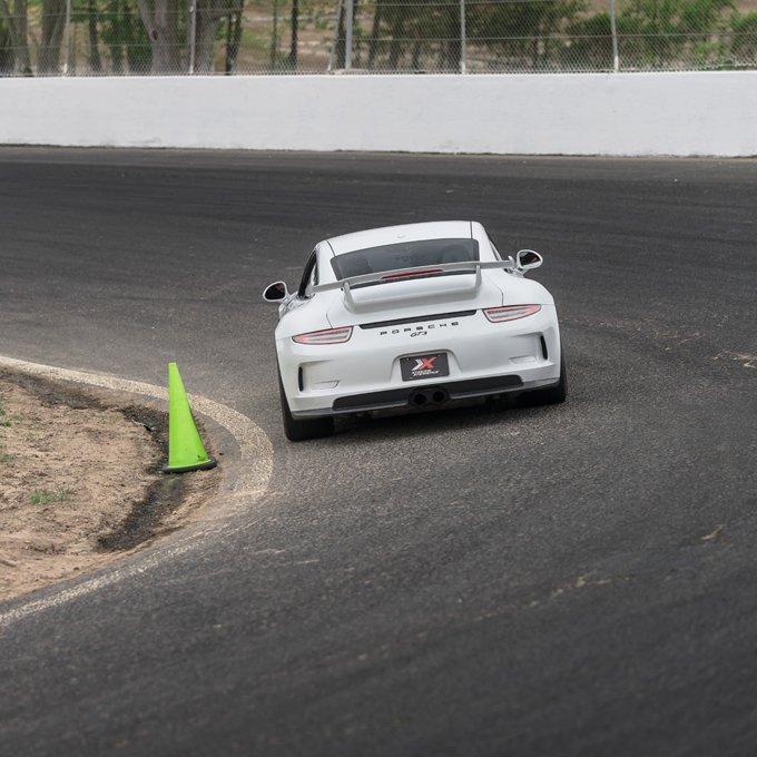 Race a Porsche at Raceway Park