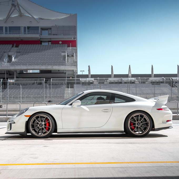 Race a Porsche near Los Angeles