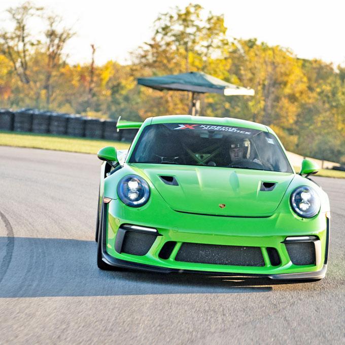 Race a Porsche 911 GT3 RS in California