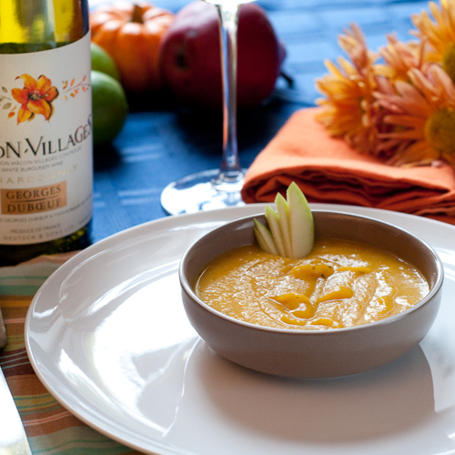Delicious Soup Created for Romantic Dinner with Chef Mark