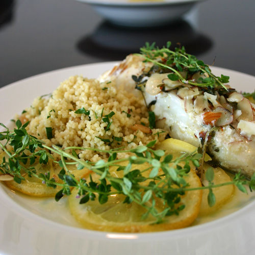 Elegant Food Prepared by the Chef