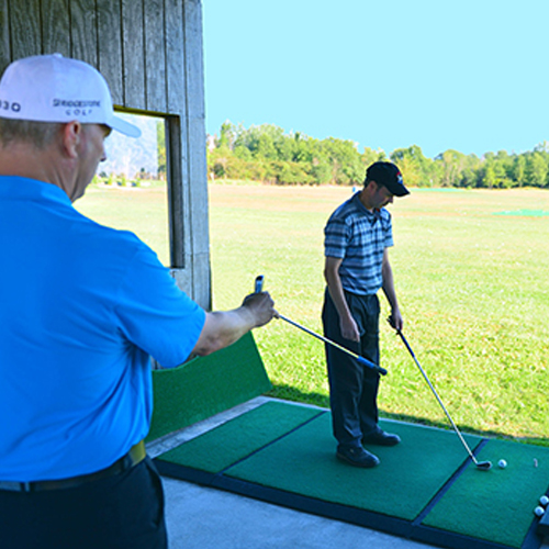 Golf Lesson with Rick Nielsen