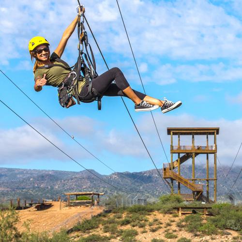 Safari Zipline Tour in Arizona