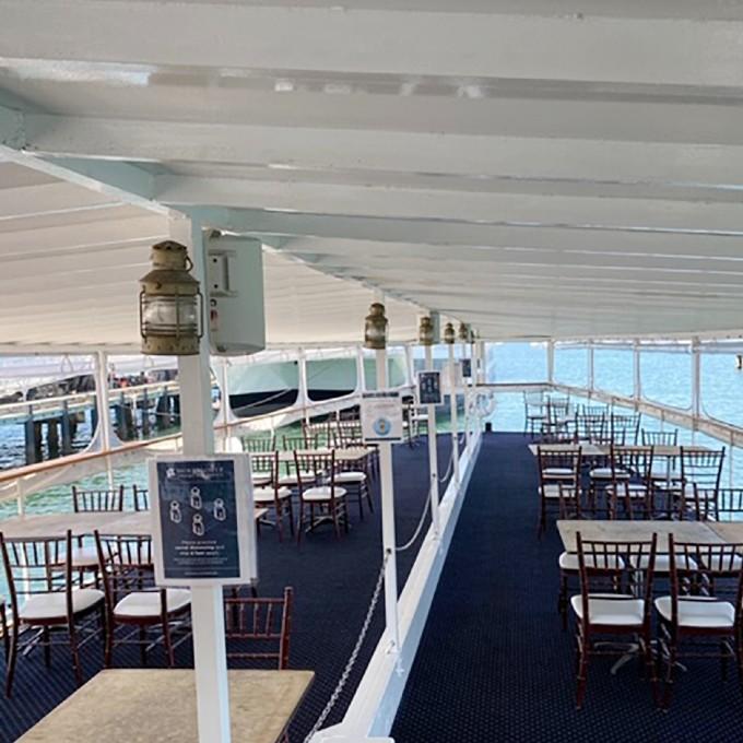 Interior of San Diego Dinner Cruise