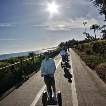 Segway Beach Tour in Santa Barbara