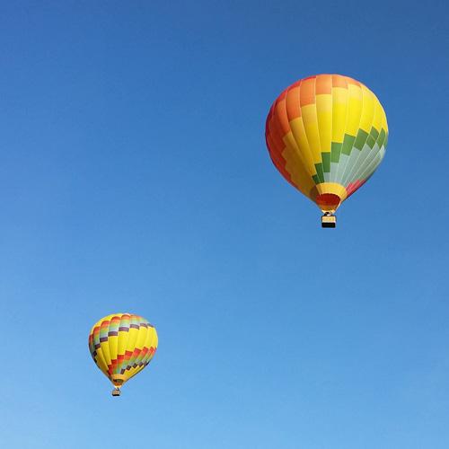 Two Balloons in Santa Barbara