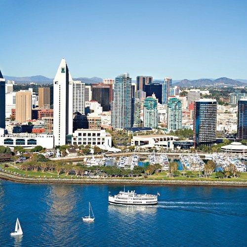 San Diego Champagne Brunch Cruise City Skyline