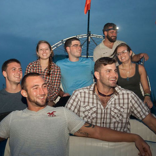 Private Airboat Night Tour