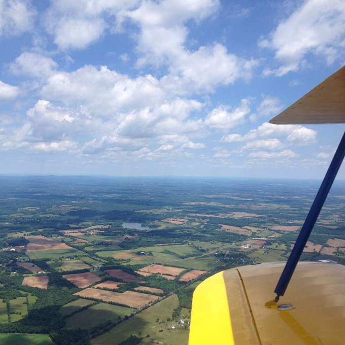 Northern Virginia Scenic Biplane Ride