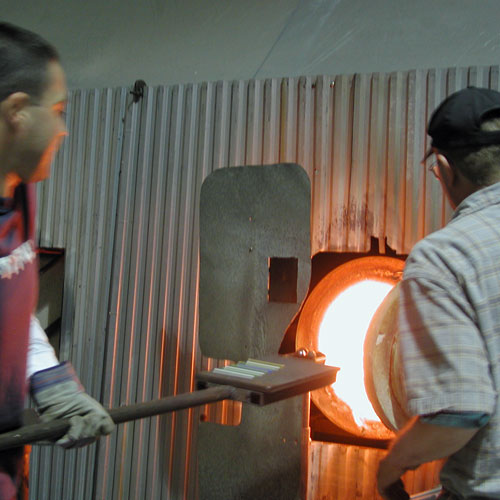 Glass Blowing Lesson in NY