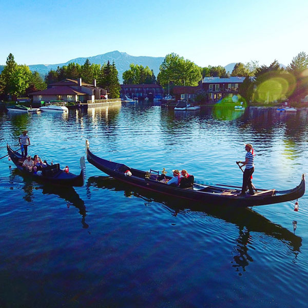 Scenic Gondola Ride on Lake Tahoe