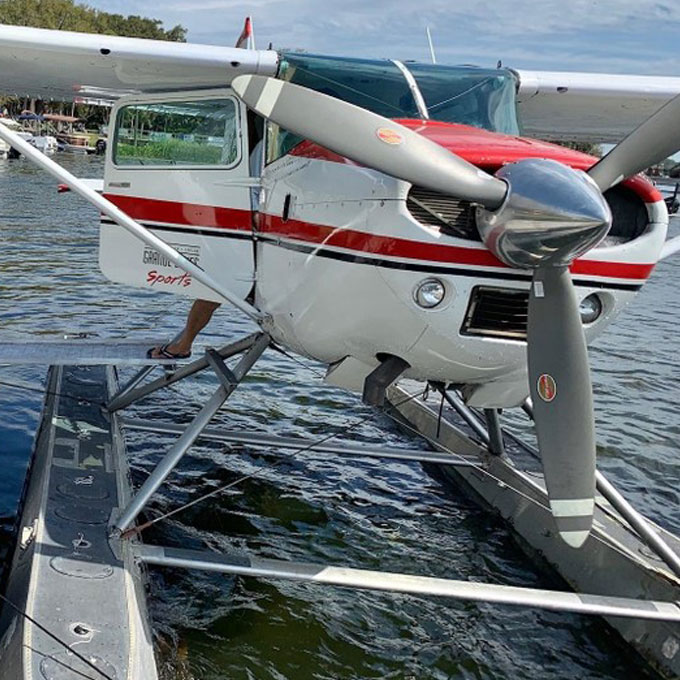 St. Johns River and Springs Eco Seaplane Tour