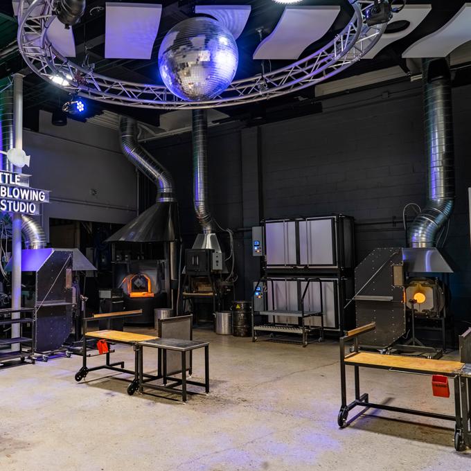 Glass Blowing Studio in Seattle