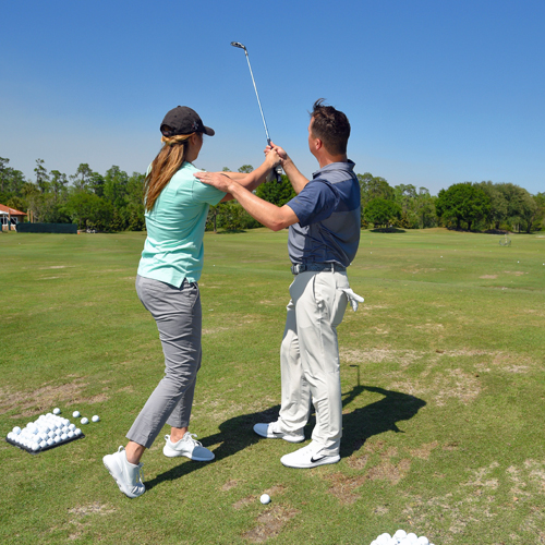 Golf Playing Lesson with PGA Professional Sean Lanyi