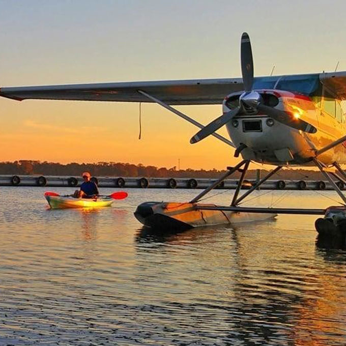 Seaplane & Kayak Tour near Orlando
