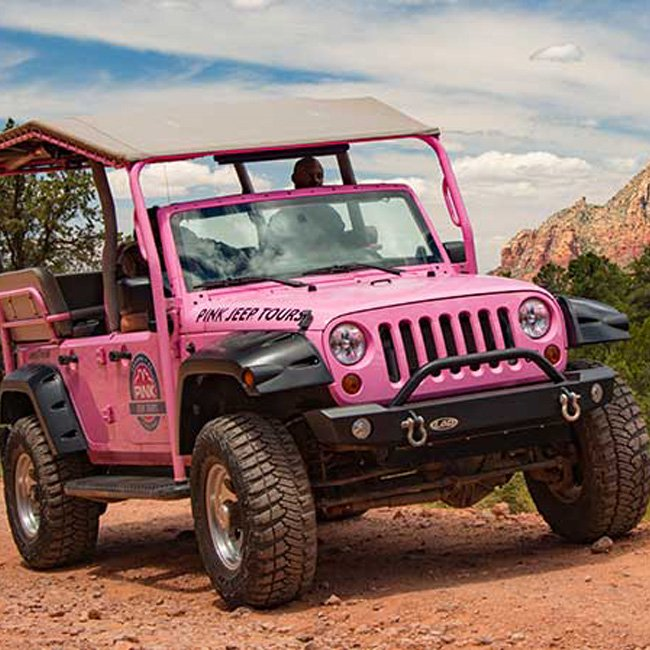 Sedona Hiking Tour in a Jeep