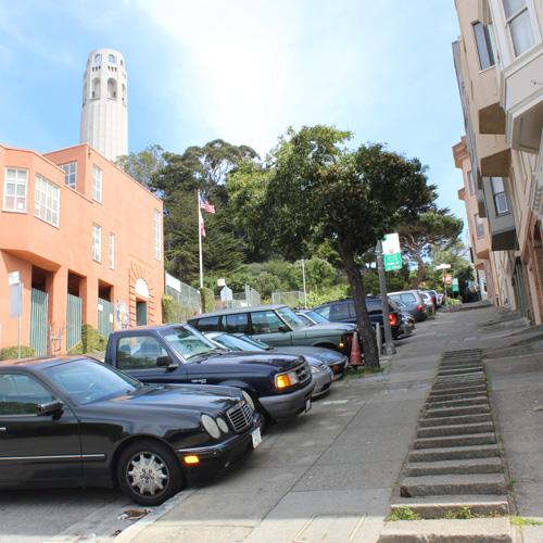 San Francisco Stairway Hiking Tour