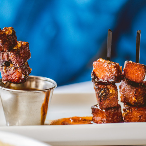 BBQ Skewers on Downtown Austin Food Tour