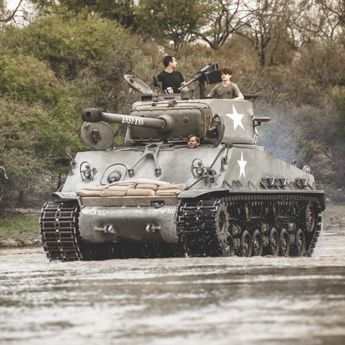 Ride on a Sherman Tank near San Antonio
