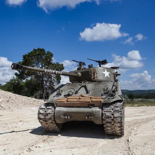 Tank Riding Experience