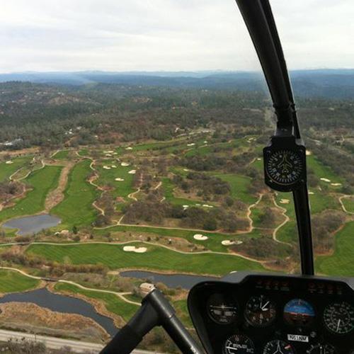 Aerial views of Sacramento