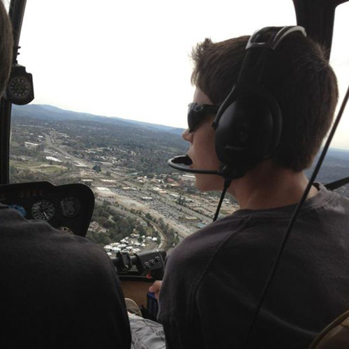 Discovery Helicopter Flight
