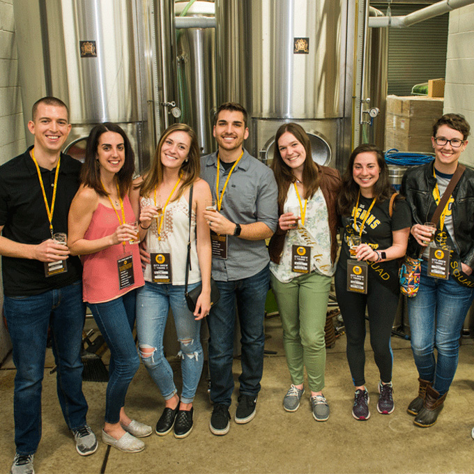 Group During Brewery Tour in Philadelphia