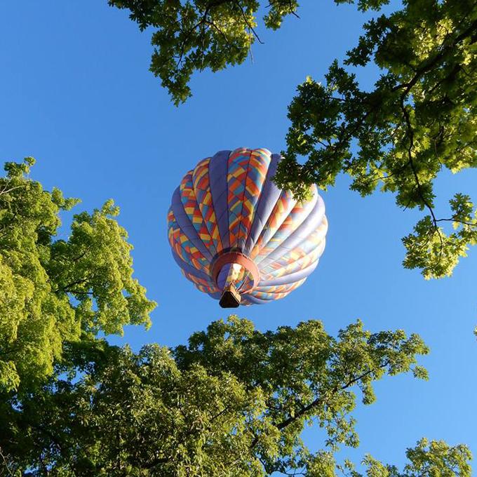 Hot Air Balloon Ride in Michigan