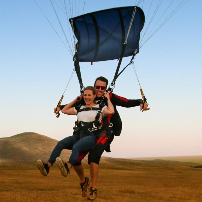 Tandem Skydiving near San Jose