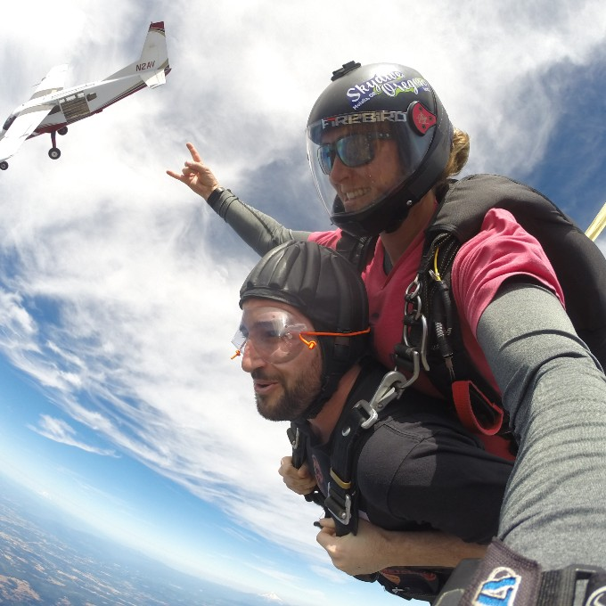 Tandem Skydiving in Molalla, OR