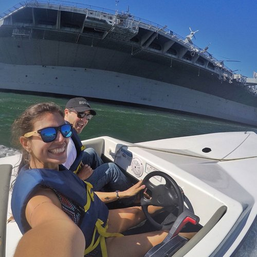 Tour San Diego by Speed Boat