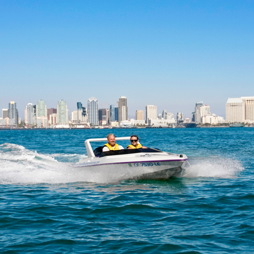 Speed Boat Ride in San Diego