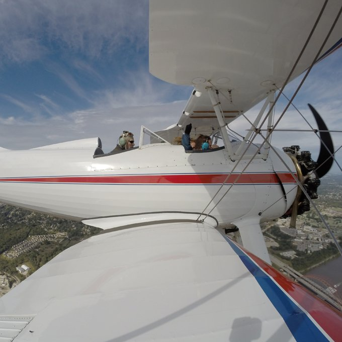 Learn to Fly a Biplane in St Louis