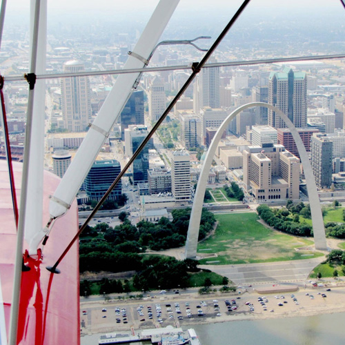 Scenic Flight over the Arch