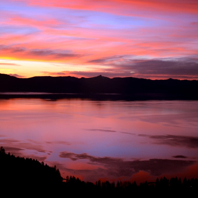 Sunset Helicopter Tour around Lake Tahoe