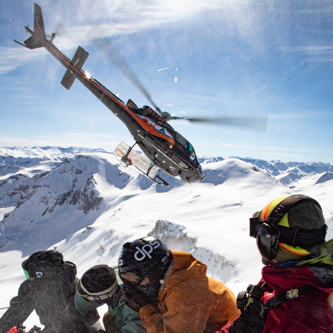 Helicopter Skiing near Denver, CO