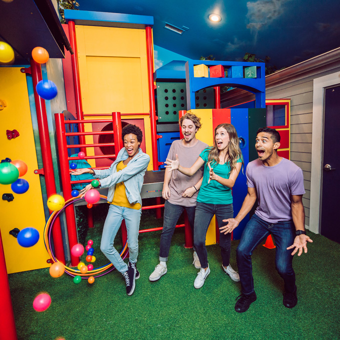 Playground Escape Room Experience in Austin