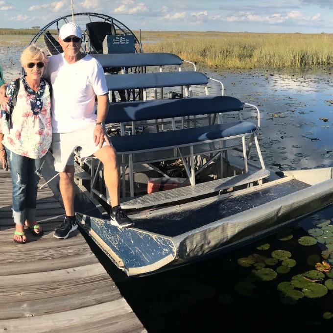 Everglades Airboat Tour near Miami